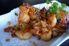 Deep Fried Shrimp with Spicy Salt