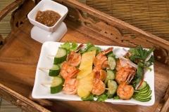 Shrimp Satay Skewers
