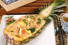 Thai Pineapple Fried Rice with Vegetables